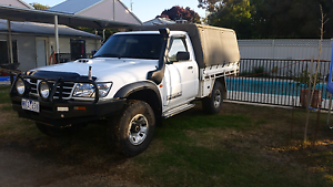 Gu patrol 2003 4.2 st cab chassis ute 254000kms Echuca Campaspe Area Preview