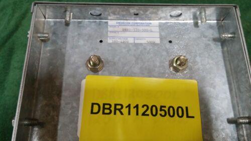 DRIVECON DBR1120500L BRAKE RESISTOR 120OHM 500W (USE W/455E) (A-37)