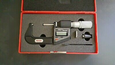 Starrett 3732xfl-2 Electronic Micrometer1 To 20..00005 Res