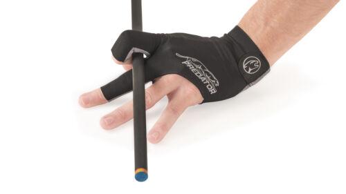 New Predator Second Skin GREY Logo - XS One size - LEFT Hand Pool Glove