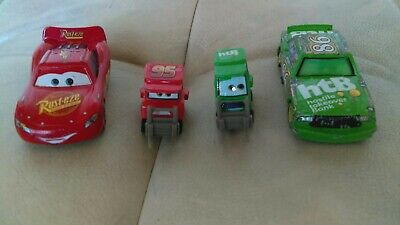 Disney Pixar Cars Lot Rare My Name Is Not Chuck Pitty McQueen Chick Hicks Pitty