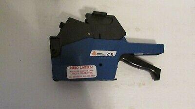 Avery Dennison 210 Double Line Price Label Marker Pricing Gun
