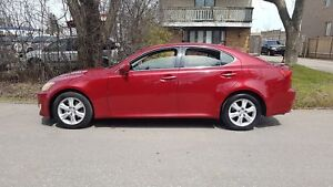 2008 Lexus IS 250 P.GROUP,WELL MAINTAINED,Certified $8475