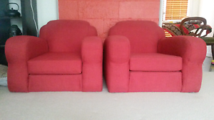 Vintage armchairs Ainslie North Canberra Preview