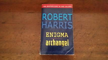 Robert Harris Enigma and Archangel