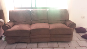 Sofa with r recliners Kewarra Beach Cairns City Preview