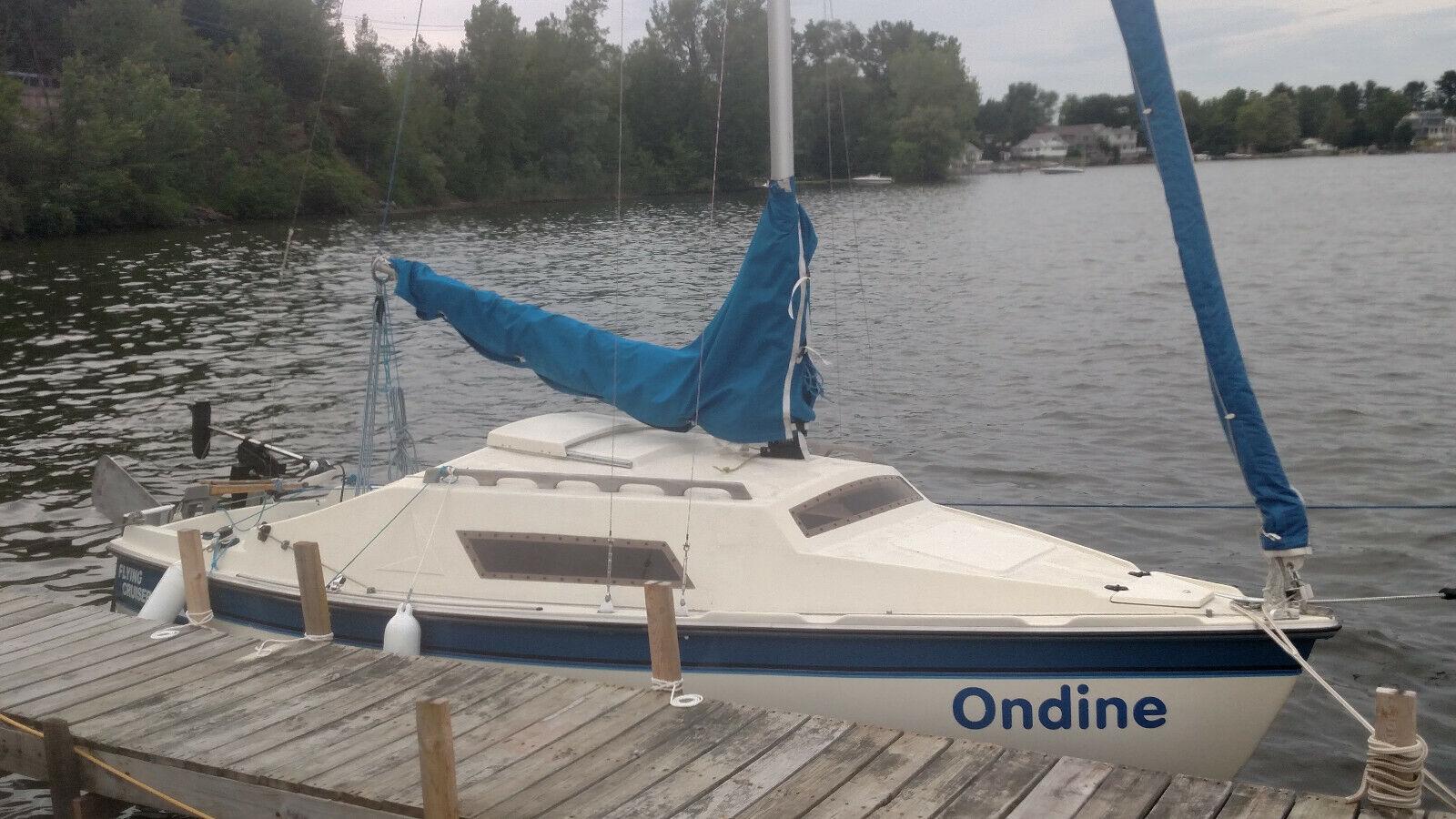 Sail Boat Flying Cruiser F
