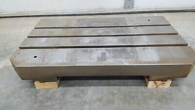T-slot Steel Fixturemounting Plate Slotted Table 18 X 30 3 Slot Used