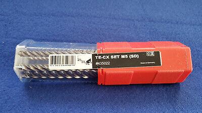 Hilti 435022 Ultimate Sds Te-cx Carbide Hammer Drill Bits Set 6-piece