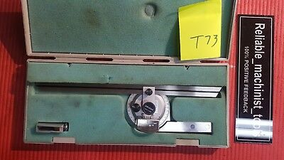 Japan Made Mitutoyo Vernier Protractor Machinist Toolst73