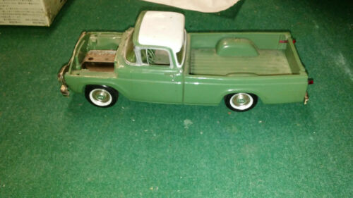 Teal and White 1960 AMT Ford F100 Pickup Truck Promo