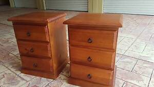 2 x Bedside drawers Northgate Brisbane North East Preview