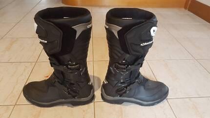 Alpinestars Corozal Drystar Black Motorcycle Adventure Boots