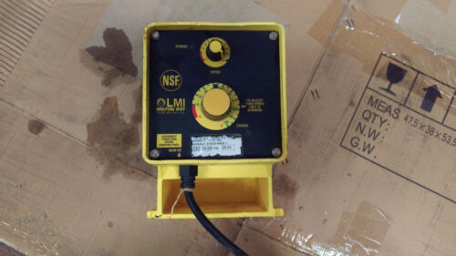 Used chemical feed pump