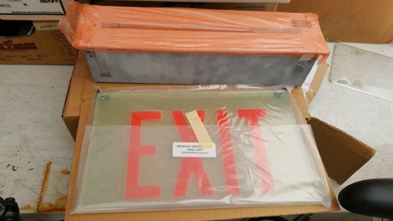 Concealite Exit Sign Board Fixture