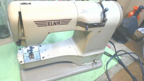 Vintage--ELNA-Supermatic-Sewing Machine -or- Misc. Parts- Switzerland
