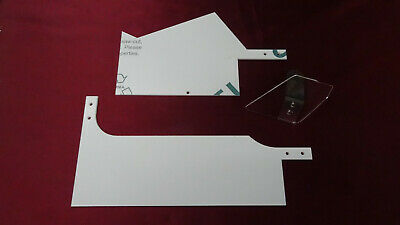 Stern Monopoly Pinball Machine Ramp Protector Set