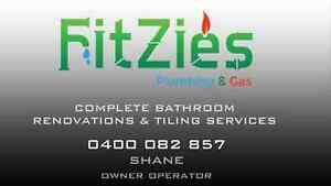 NEED A PLUMBER? BEST SERVICE PROMISE FITZIES PLUMBING GAS! Perth Perth City Area Preview