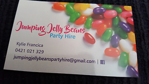 Jumping jelly beans party hire Telarah Maitland Area Preview
