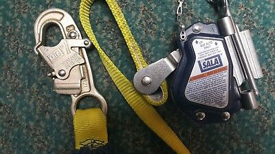 Dbi 5000335 Lad Saf 5 8 Inch Removable Mobile Rope Grab And Ez Stop Shock Absorb