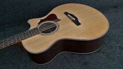 "Ibanez AE255BT-NT BARITONE ACOUSTIC ELECTRIC CUTAWAY Solid Spruce Top 27"" SCALE"
