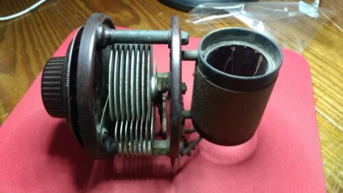 2nd TRF Stage Variable Capacitor & Coil Atwater Kent Model 20 Bakelite Dial Too