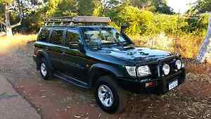 2003 NISSAN PATROL 4X4 DIESEL AUTOMATIC  7SEATER ARB ACCESSORIES Broome Broome City Preview