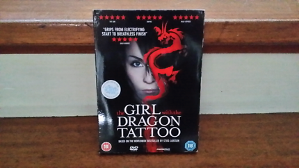 The Girl with the Dragon Tattoo region 2 dvd
