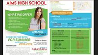 Credit Courses, Full time / Part time for all grades , Tutoring