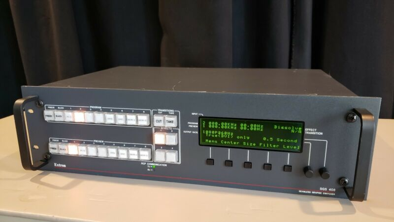Extron SGS408 Seamless Graphic Presentation Switcher HD