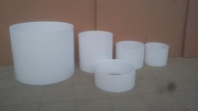 BRAND NEW 4-PC ACRYLIC ACOUSTIC DRUM SHELL SET