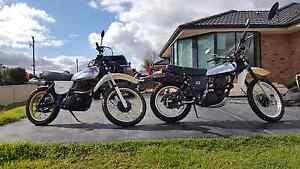 XT500 Yamaha Greta Cessnock Area Preview