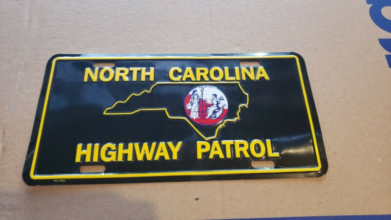 NORTH CAROLINA - STATE HIGHWAY PATROL - LICENSE PLATE - POLICE