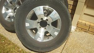 4 GU alloys and tyres Redland Bay Redland Area Preview