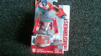 "Transformers Authentics Optimus Prime 4"" Figure New in Package FREE SHIPPING"