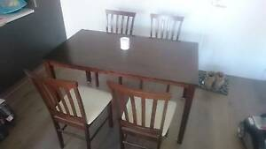 Dining Table with 4 Chairs Rivervale Belmont Area Preview