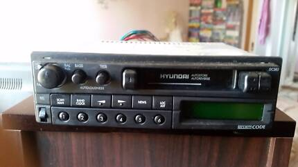 Hyundai Car Radio Cassette Player, as in pictures