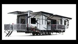 Wanted newer 28 foot and larger camper.