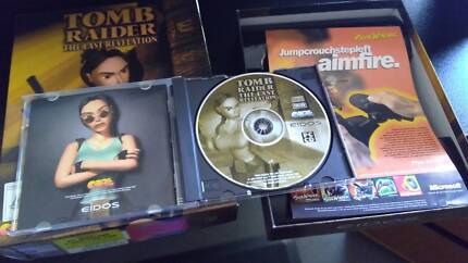 Vintage PC game: Tomb Raider - The Last Revelation