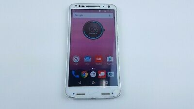 Motorola Droid Turbo 2 32GB White (Verizon) Smartphone LCD Spot Clean IMEI J4556