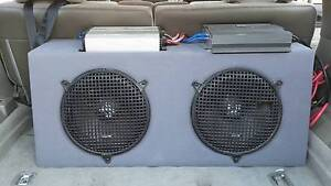 Sub woofers, box and JL monoblock amp Munster Cockburn Area Preview