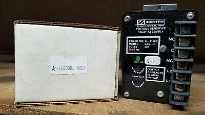 Zenith Voltage Sensing Relay Assy Ars-4 240v