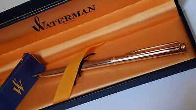 Portamine Waterman Exclusive gold plated. Nuovo /mint