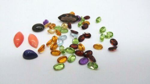 LOTS OF NATURAL MULTI-COLOR GEMSTONES 33.40 carats total  AI-871