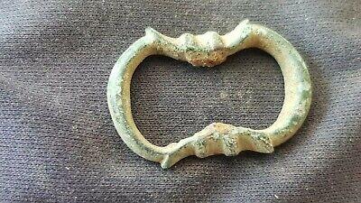 Superb rare little 16 hundreds bronze buckle, Please read description. L138r