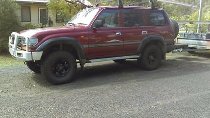 1996 Toyota LandCruiser Wagon West Ipswich Ipswich City Preview
