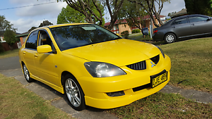 2004 Lancer VRX sport Sedan, extremely reliable and economical. Merrylands Parramatta Area Preview