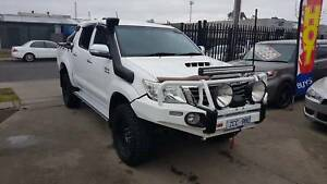 2012 Toyota Hilux SR5 DuelCab Ute 4X4 LOW KMS TURBO DIESEL EXTRAS Williamstown North Hobsons Bay Area Preview