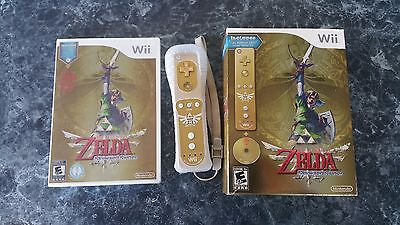 The Legend Of Zelda  Skyward Sword   Limited Edition W  Remote   Please Read