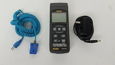 General Tools Dt4947sd 4-channel Thermocouple Thermometer -328-2498f W Sd Card